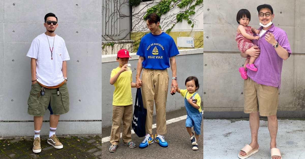 爸爸時尚穿搭決戰伸展台!台韓3組人父比穿搭、比身材,妳投誰一票?