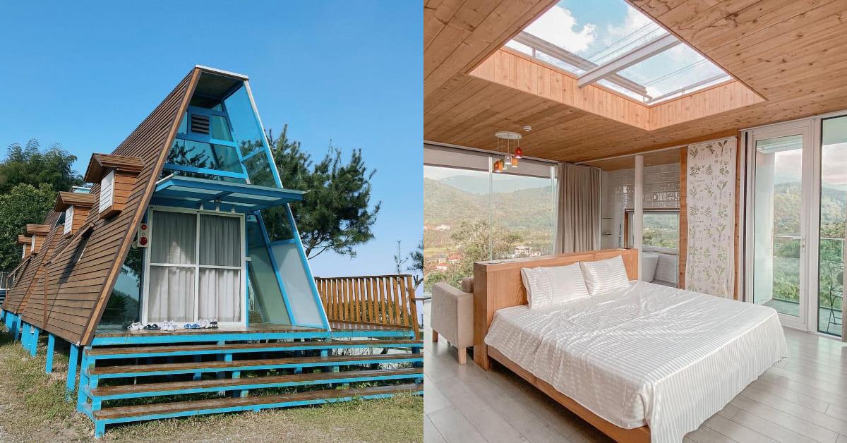 南投民宿推薦Top5,少女夢寐以求的玻璃屋民宿,和山景、湖景、森林一起入睡!
