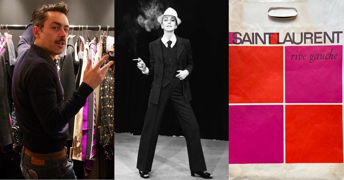 Saint Laurent斥資巨額,回購4000件YSL古著!是什麼樣的魅力,驅使收藏家花30年去愛?
