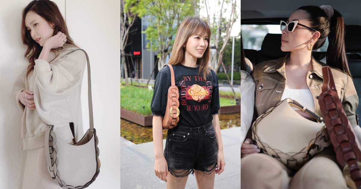 媽媽包也可以很時髦!這款「水桶肩背包」讓侯佩岑、Melody到蔡詩芸都搶揹它出門