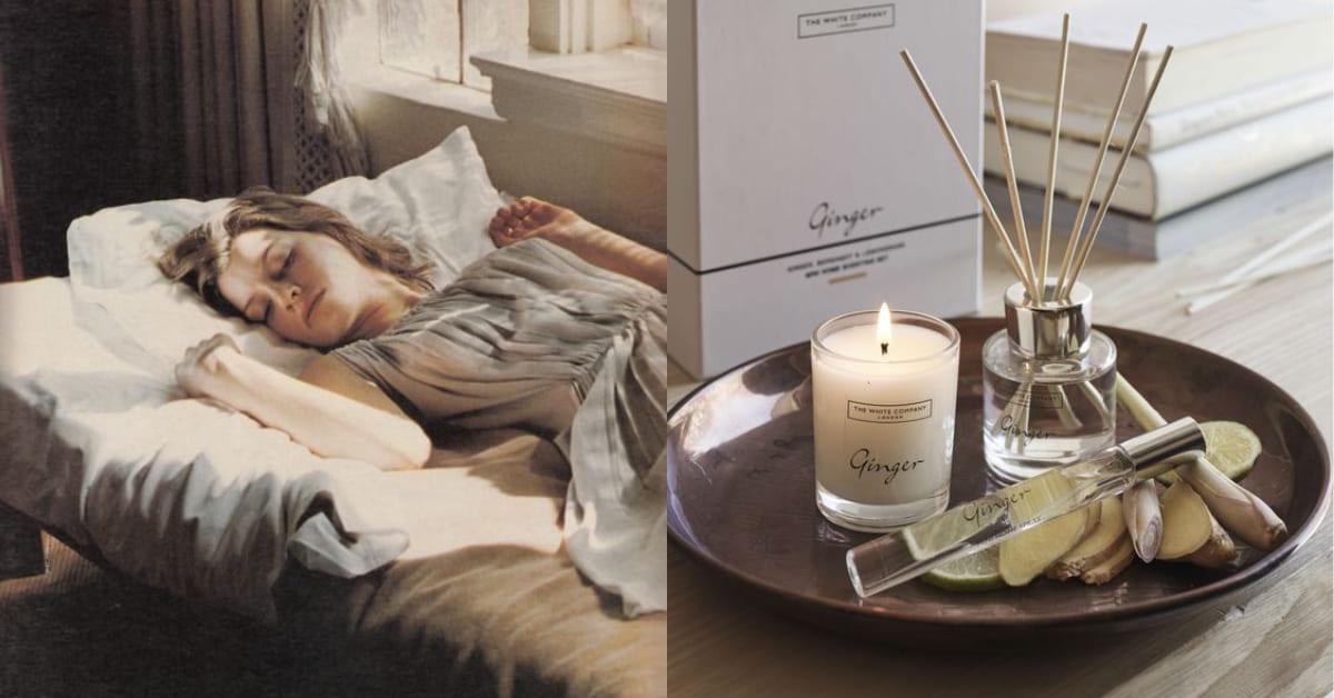 香氛蠟燭、水氧機、擴香精油用錯時間竟會影響睡眠?亂用香氛可能造成反效果!