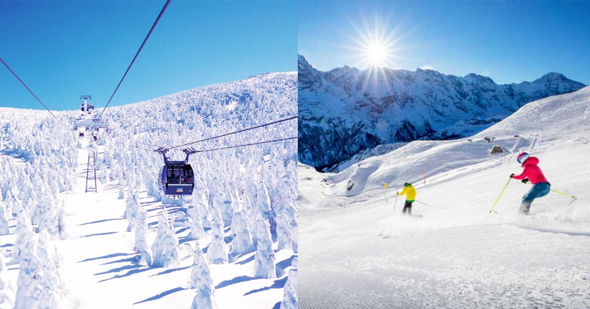 內行人不告訴你!日本、韓國、歐洲滑雪行程不藏私這樣玩