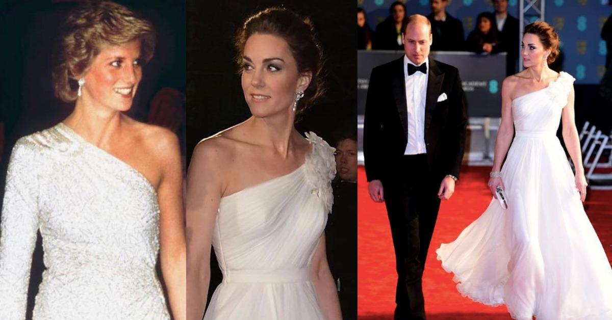 凱特王妃「英國奧斯卡」完勝好萊塢女星!耳環配戴黛安娜王妃的遺物