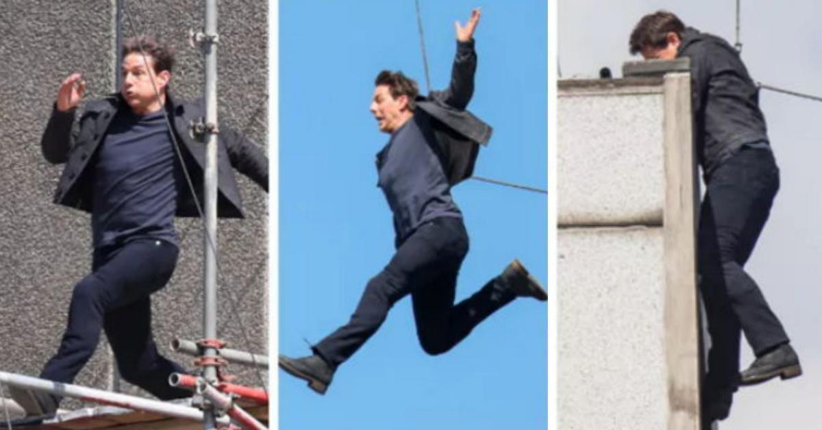 《不可能的任務:全面瓦解》頂樓跳躍折斷腳踝還繼續跑!回顧阿湯哥電影裡的恐怖驚險畫面