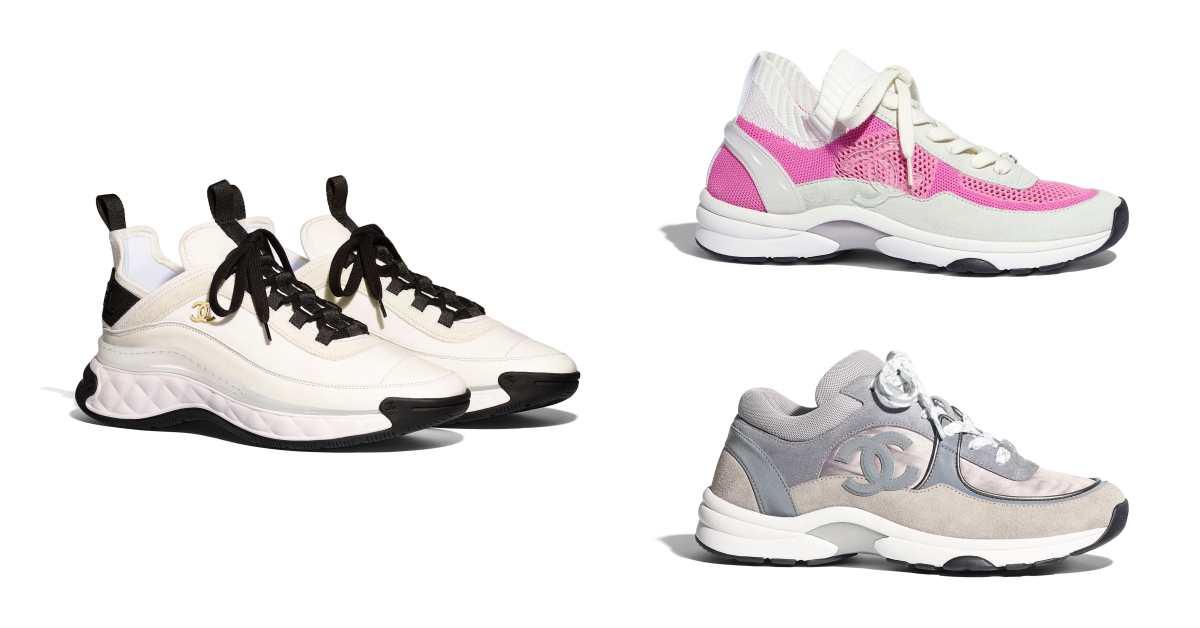 Chanel球鞋霸氣登場!盤點5款從純白、純黑到奶茶色,從秀場跑到田徑場都不違和