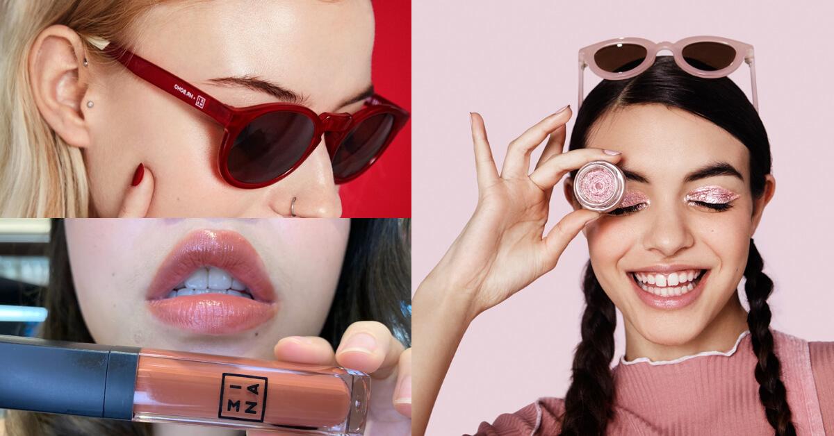 原來口紅搭墨鏡這麼美!學會潮人最夯的「彩妝混搭」,讓你成為IG網紅