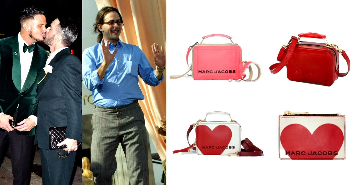 Marc Jacobs從宅男變型男、短命4月婚,回顧高潮迭起的戀愛!用一款「包」教你如何在愛情裡越挫越勇