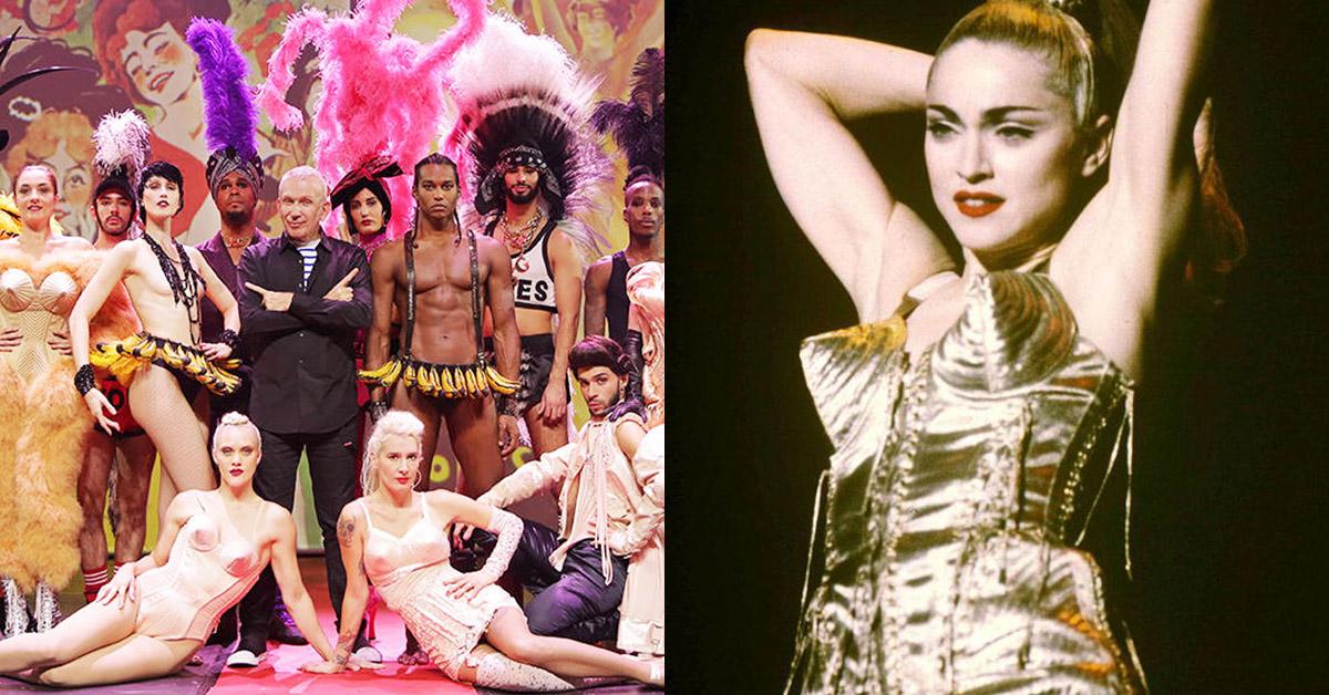 【克編雜記】內衣外穿風潮推手、性別多元貢獻…「時尚頑童」職涯50年退休之作,經典回憶湧瞬間