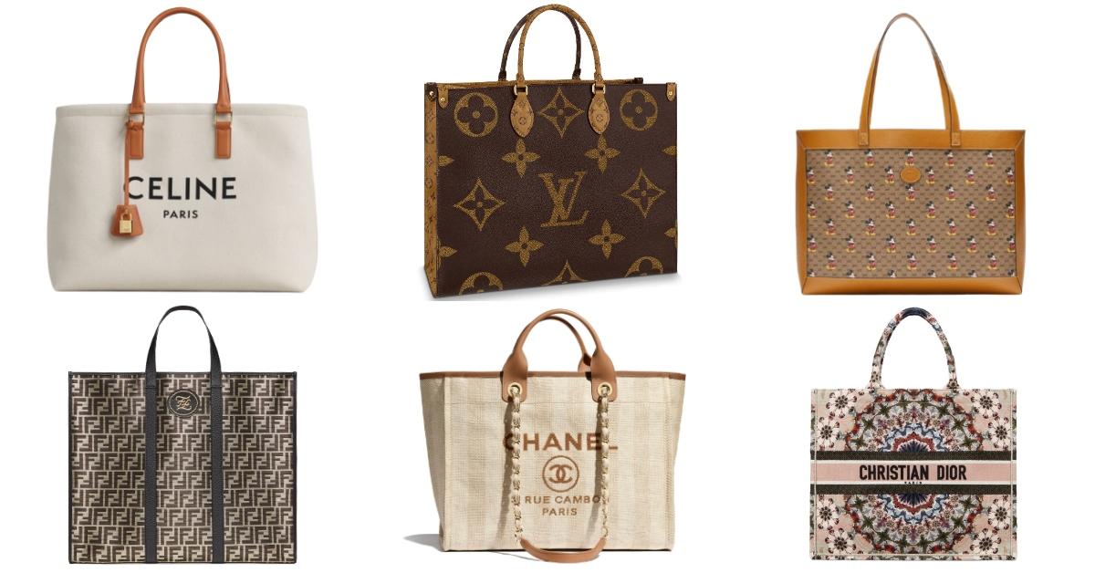 預測2020年下一個IT包是超實用「巨型托特包」!LV、Chanel、Dior、Celine....推薦