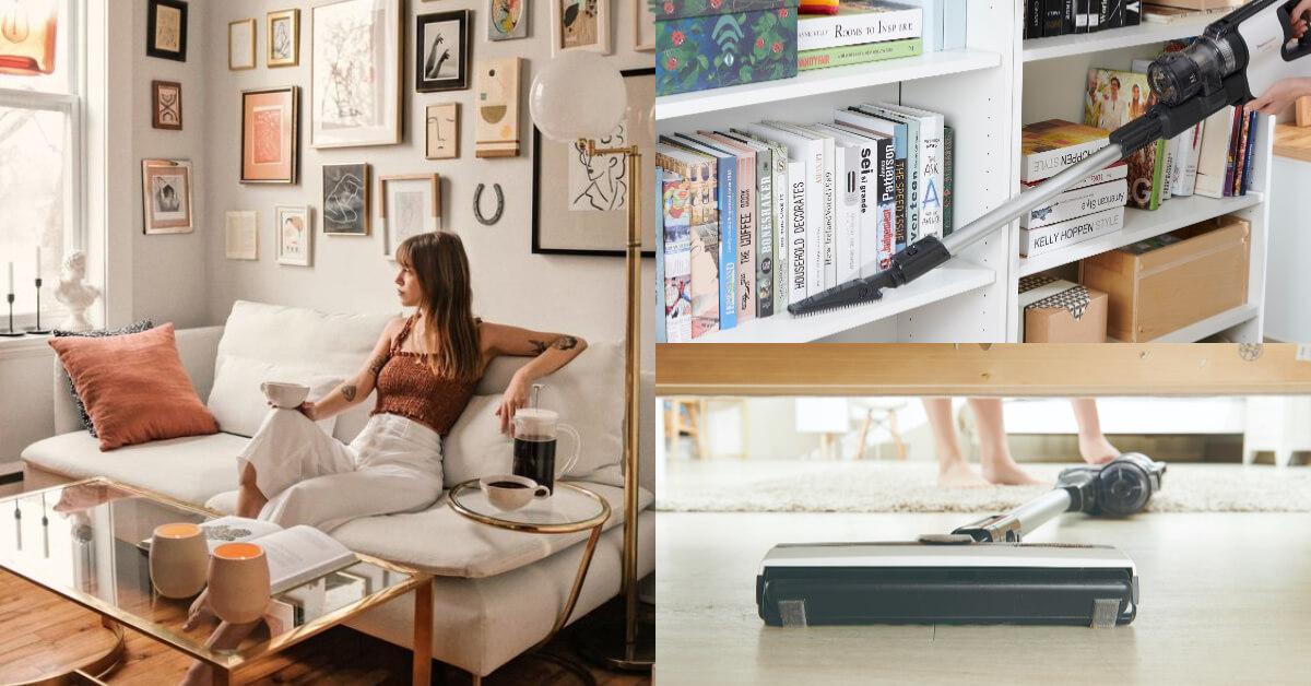 選對吸塵器很重要!OL居家好幫手家中灰塵、沙發塵蟎這些隱形的過敏原都GET OUT!