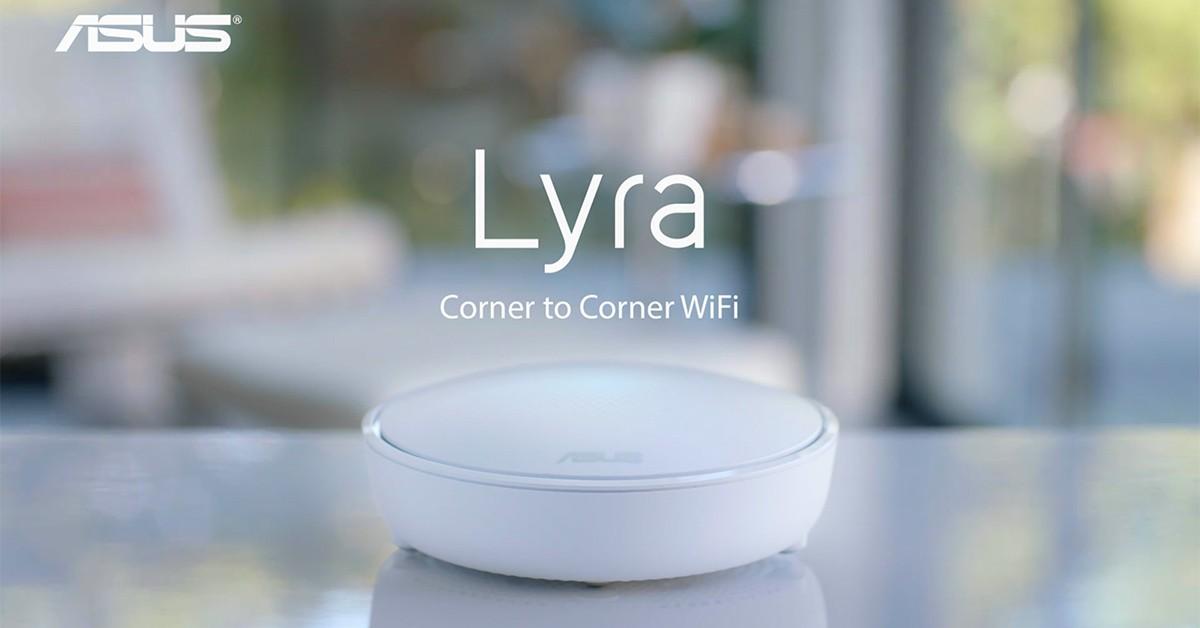 誰說Wifi分享器一定又大又醜,ASUS Lyra美型無線分享器讓家用網路變時尚