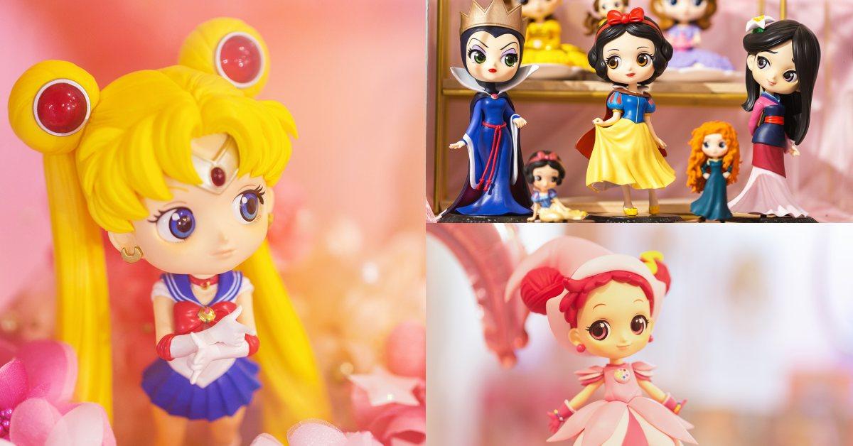 美少女戰士降臨台北南西商圈!還有小魔女DoReMi、庫洛魔法使oh!