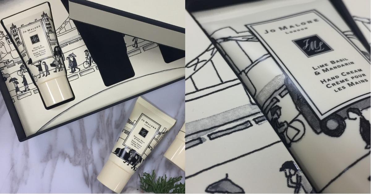 Jo Malone將最受歡迎的味道融在護手霜裡,手繪英國街景包裝像是一幅畫!