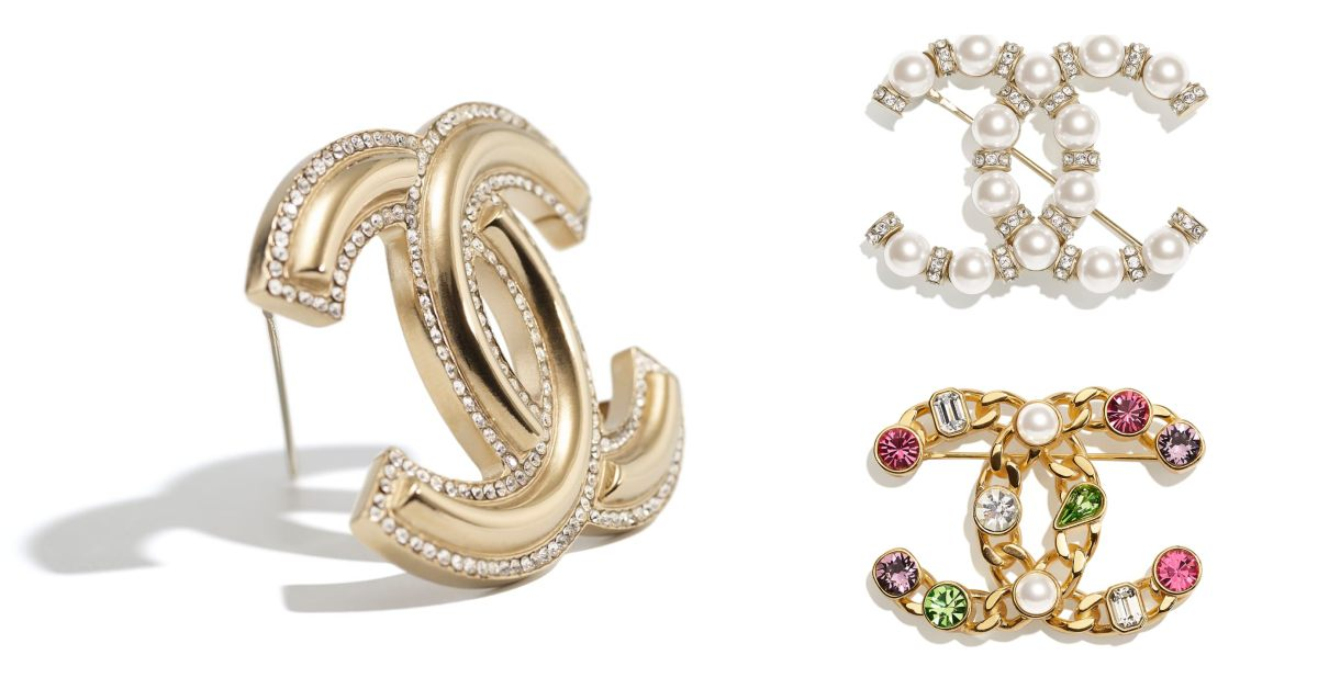 Chanel首飾推薦這10款胸針 !沒有2.55、19、Boy Chanel沒關係 ,CC Logo胸針讓你秒變時尚部落客!