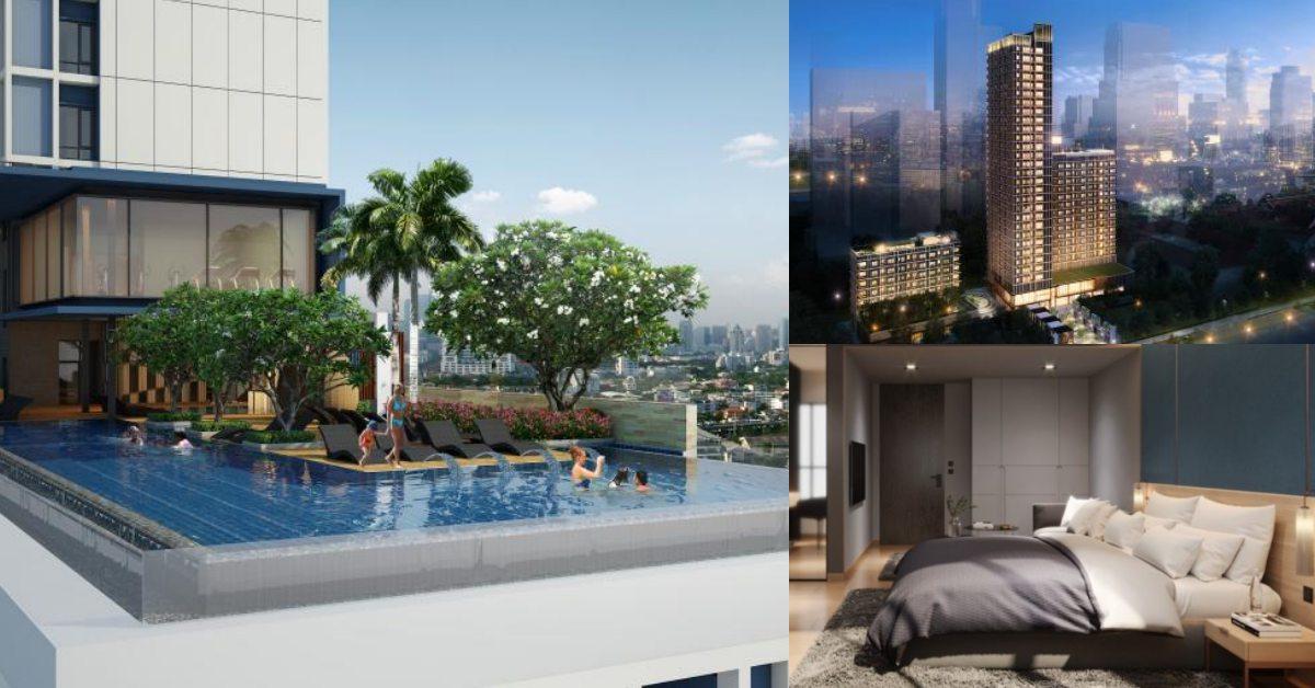 曼谷全新《Sindhorn Midtown》酒店開幕!絕美莫蘭迪色房、高空無邊際泳池賞夜景
