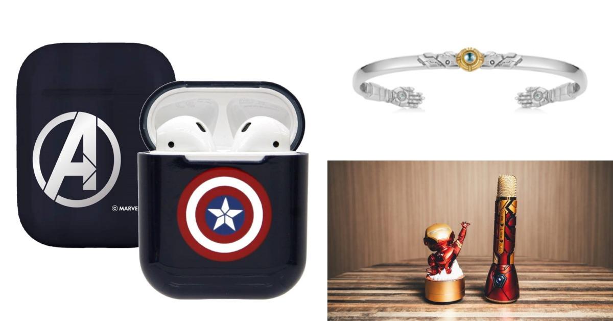 跟上《復仇者聯盟4》熱潮!手刀購入周邊Airpods保護套、鋼鐵人手鐲、盾牌隨身碟吧