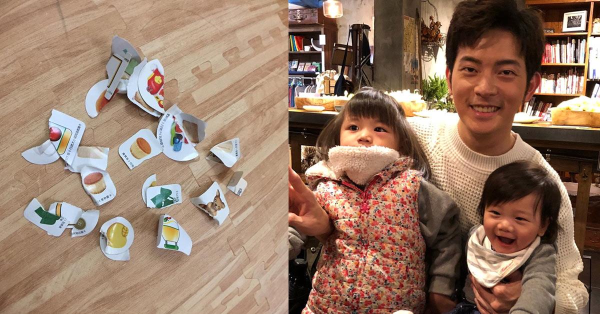 宥勝撕碎孩子玩具引風波,呂秋遠列10點抒發教養小孩不容易