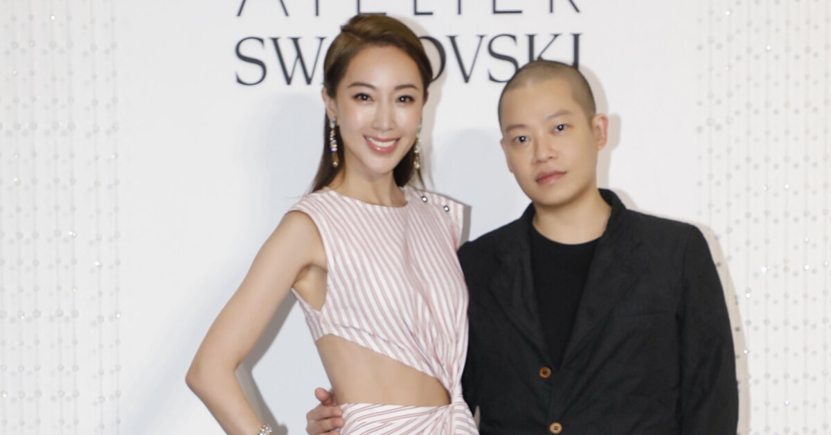 施華洛世奇最高等級珠寶系列面世十周年,吳季剛特回台灣與隋棠同慶聯名系列上市!