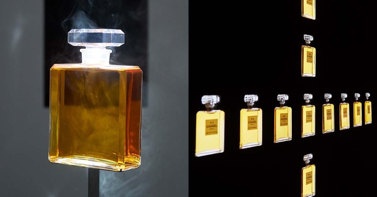 香水界無人不曉的N°5 五號香水。