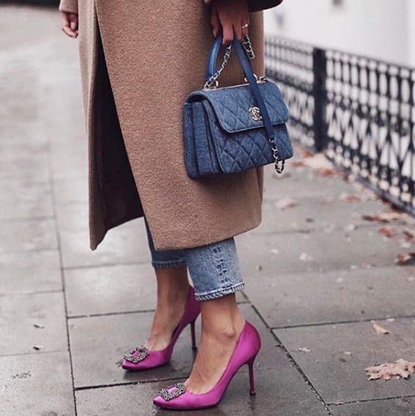 (1) Manolo Blahnik,這一因《慾望城市》而竄紅、自此成為名媛貴婦及時尚型女們搶翻天的的頂級鞋履品牌。