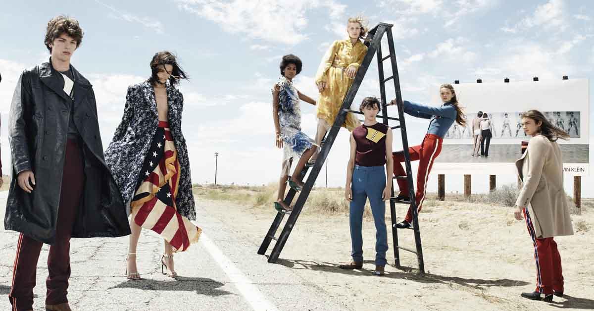 (1) Raf Simons上任後便大刀闊斧改革Calvin Klein整個品牌風格,連每一季的廣告也不例外。