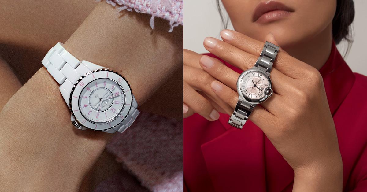 腕錶推薦「粉紅色」Top 14!Cartier、Tiffany、Chanel...Rolex這只「Oyster Perpetual」男朋友也會來搶-0