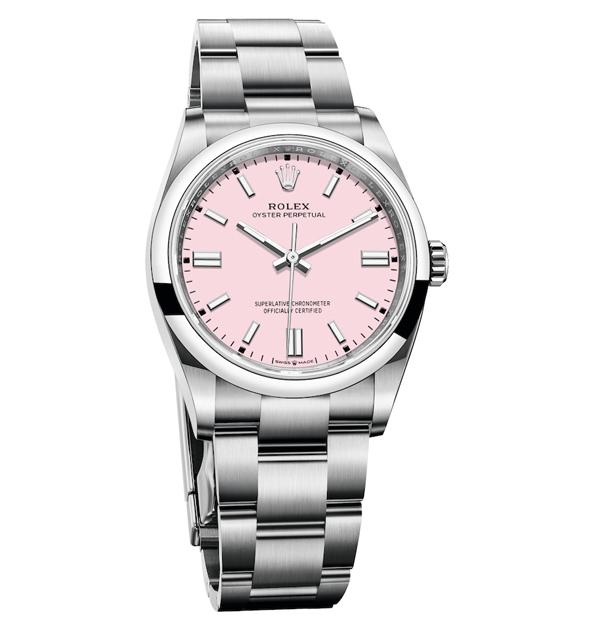 腕錶推薦「粉紅色」Top 14!Cartier、Tiffany、Chanel...Rolex這只「Oyster Perpetual」男朋友也會來搶-8