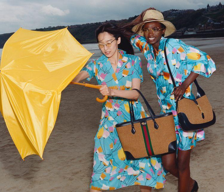 Gucci防水鞋粉絲瘋搶 !漁夫帽  、編織托特包、印花洋裝....5大「夏日精選」 單品限量登場-0