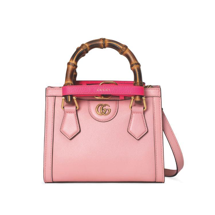 2021「粉色包包」推薦Top25!LV、BV、Celine ... 石英粉、珊瑚粉到櫻花粉紅全都包,Gucci「Diana」準備再掀竹節包風潮-4