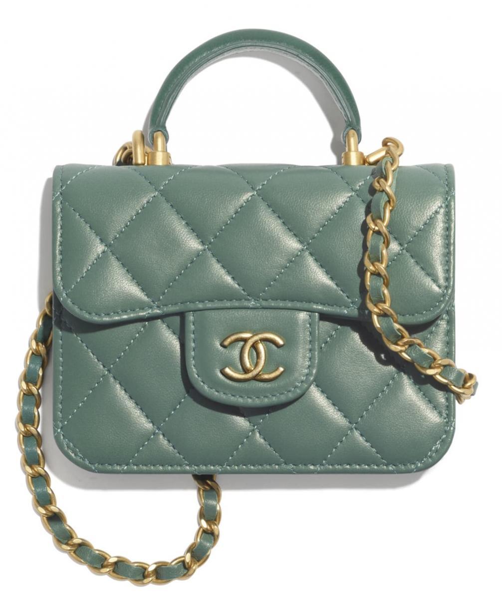 2021夏季包包「抹茶色」推薦Top10!Gucci 、Celine、Prada...Chloe「C Bag」櫃上詢問度熱潮不減-0