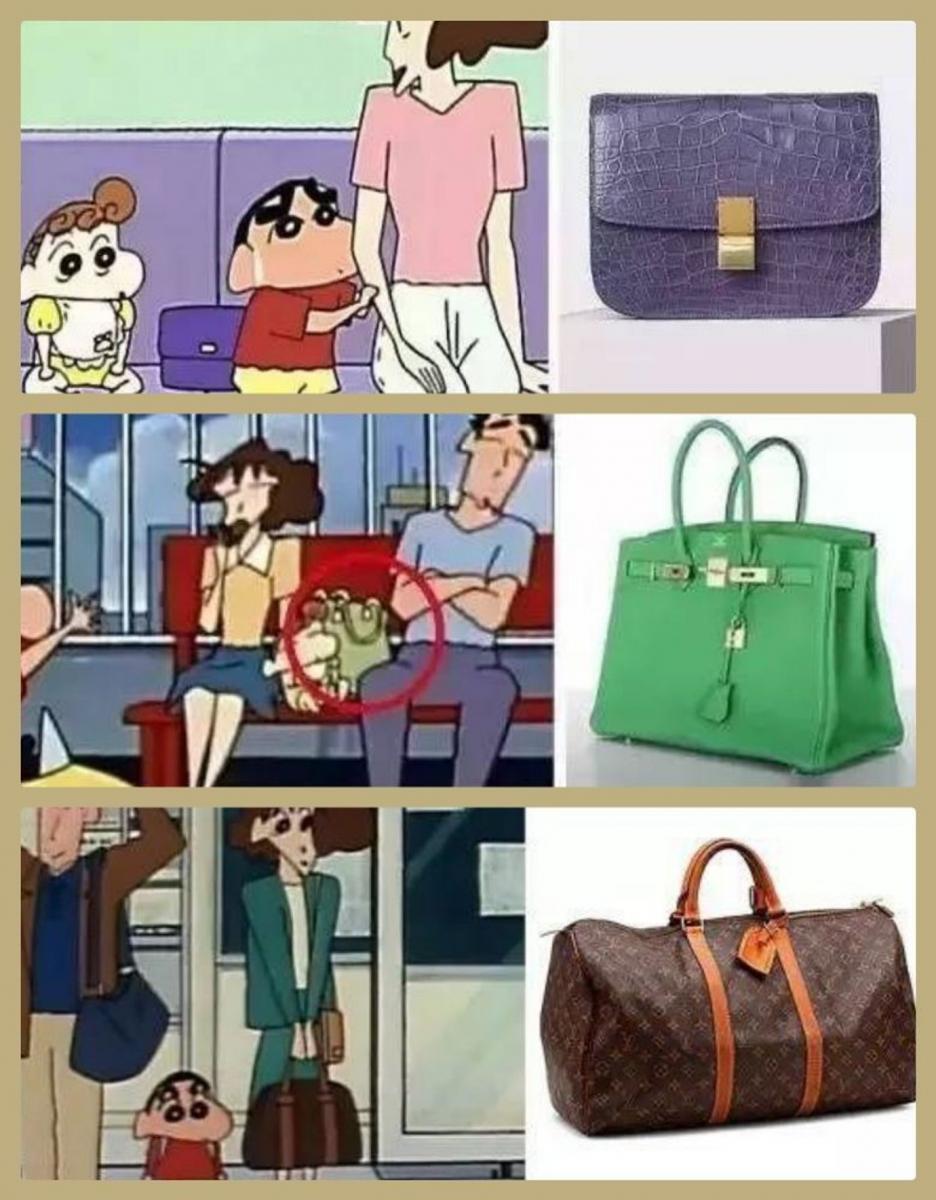 不要被騙了!蠟筆小新家根本是超級有錢人,衣服、包包全是精品大牌!-5