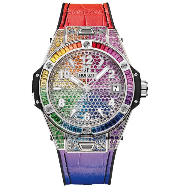 「彩虹錶」推薦Top 11!從香奈兒、勞力士、寶格麗…絢麗色彩如同多元愛情,一起為希望喝采-8