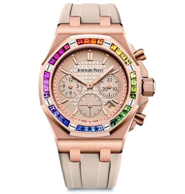 「彩虹錶」推薦Top 11!從香奈兒、勞力士、寶格麗…絢麗色彩如同多元愛情,一起為希望喝采-9