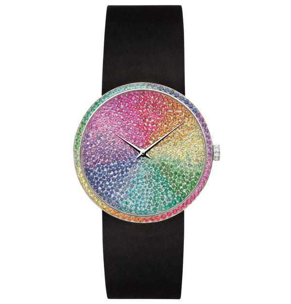 「彩虹錶」推薦Top 11!從香奈兒、勞力士、寶格麗…絢麗色彩如同多元愛情,一起為希望喝采-3