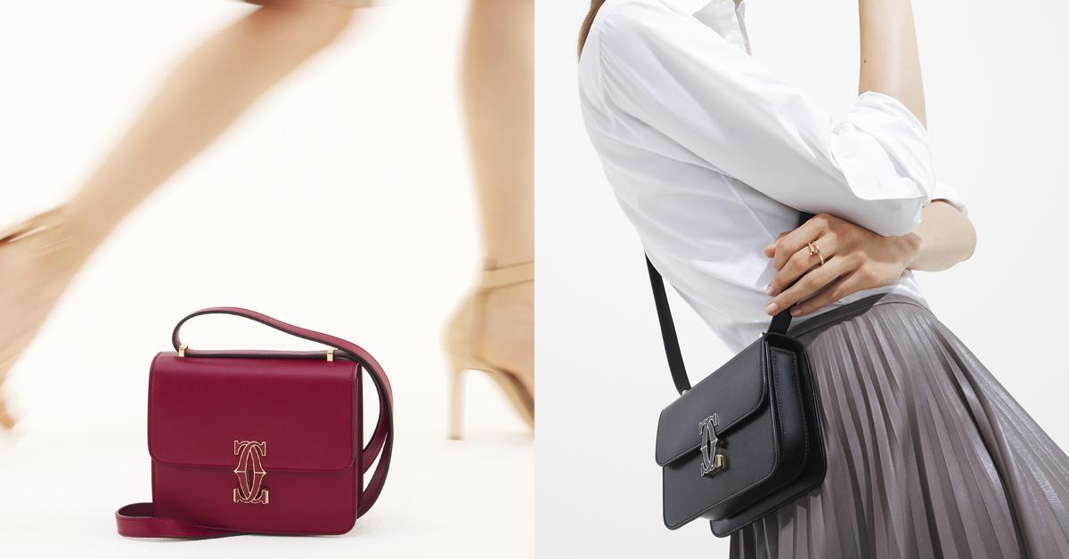 2021下半年最夯IT bag!卡地亞「double c」肩揹包,雙c釦頭配上繽紛色彩引起搶購風潮-0