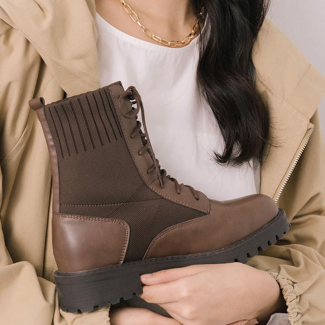 2021秋冬D+AF靴子早鳥預購中!鋸齒靴、麂皮靴、方頭靴、過膝靴....最低現折600元!-4