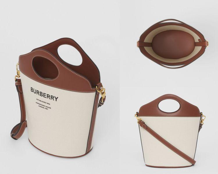 Burberry下一個秒殺款是它!全新「提把水桶包」百搭又時髦,三種款式美到好難選啊!-4