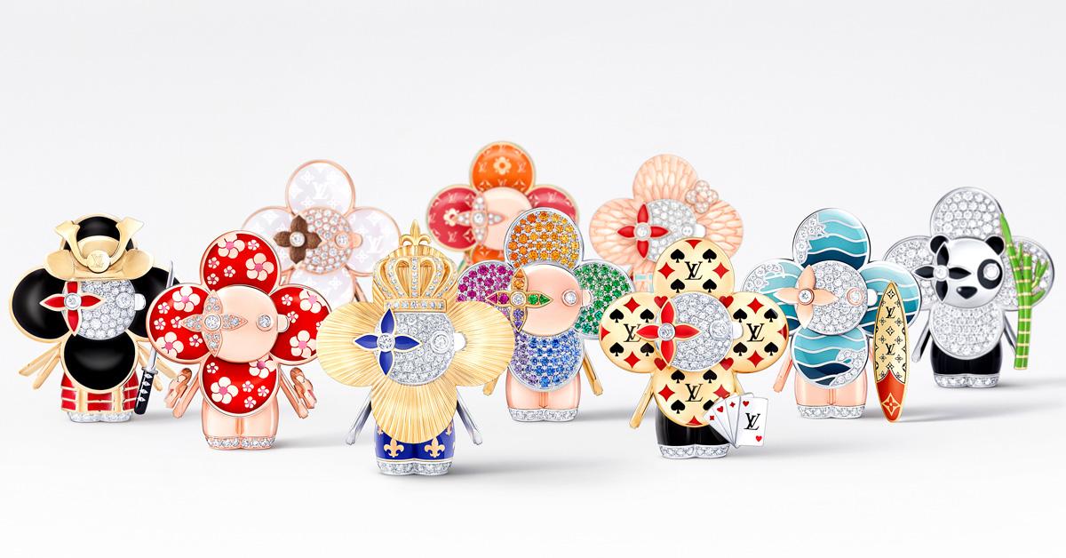 LV吉祥物「Vivienne」變成百萬珠寶!化身日本武士、衝浪手、大熊貓…11款限量登場,超萌模樣捨不得戴-2
