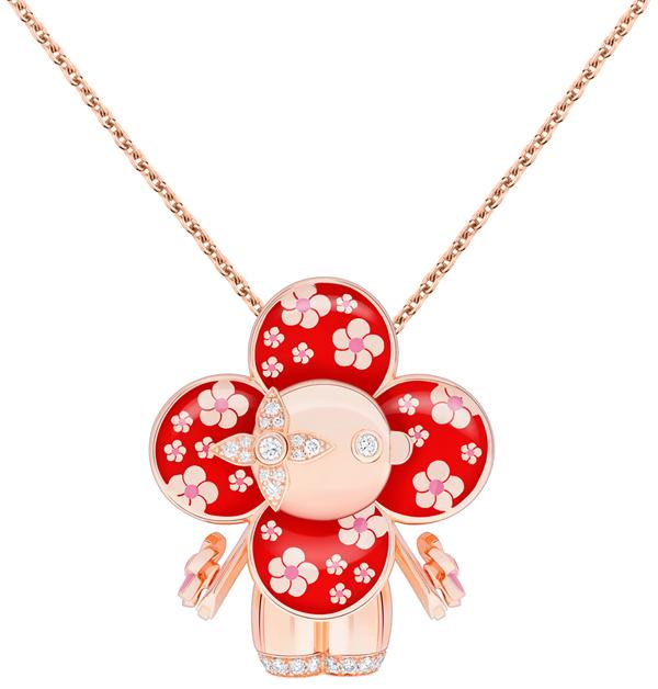 LV吉祥物「Vivienne」變成百萬珠寶!化身日本武士、衝浪手、大熊貓…11款限量登場,超萌模樣捨不得戴-8