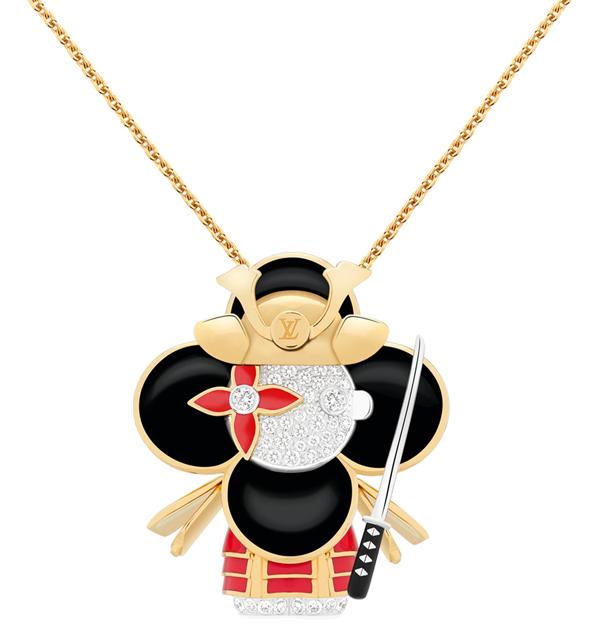 LV吉祥物「Vivienne」變成百萬珠寶!化身日本武士、衝浪手、大熊貓…11款限量登場,超萌模樣捨不得戴-4