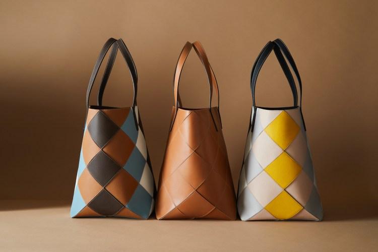 Tod's包包把廢物變黃金!這款「撞色格紋包」真的太吸睛,回收皮革拼接環保又時髦-3