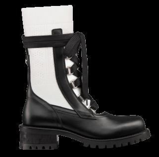 2021年秋冬Dior靴子推薦Top10,防水橡膠、率性軍靴、老花鞋面...可甜可鹽超百搭!-3
