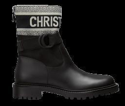2021年秋冬Dior靴子推薦Top10,防水橡膠、率性軍靴、老花鞋面...可甜可鹽超百搭!-7