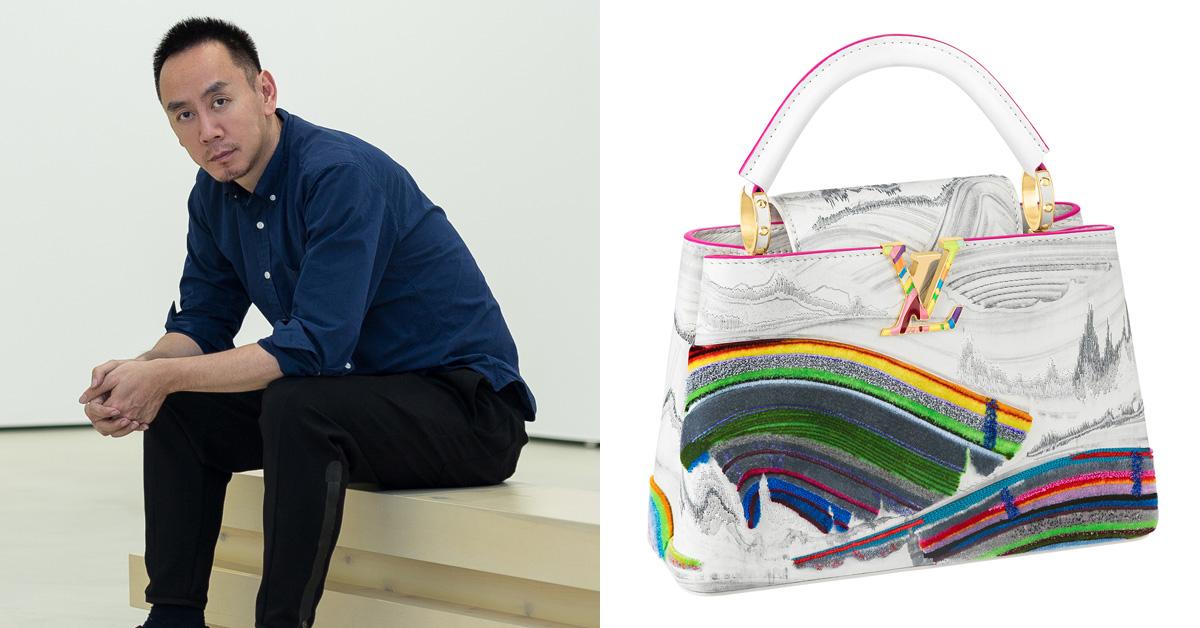 LV經典「Capucines」包款藝術上身!一筆一畫全手工,特別限量系列Gigi Hadid、凱特王妃都愛-5