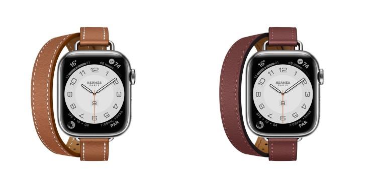 Hermès第七代AppleWatch錶帶登場!亞麻藍、萊姆黃真的美翻,經典「皮革鏈帶」奢華品味再升級-1