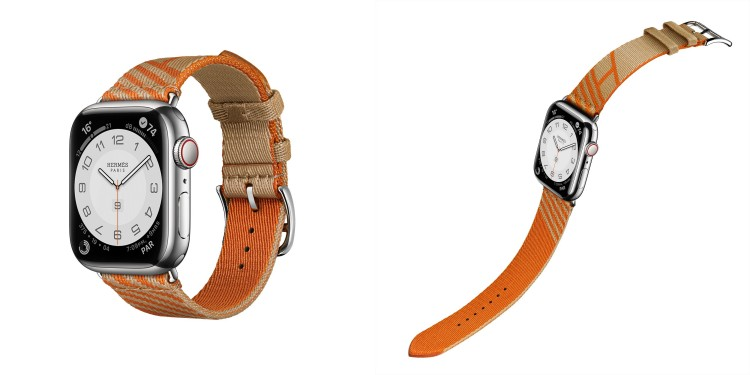 Hermès第七代AppleWatch錶帶登場!亞麻藍、萊姆黃真的美翻,經典「皮革鏈帶」奢華品味再升級-4