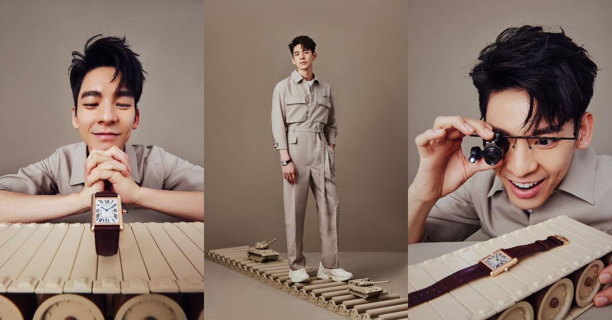 Cartier Tank系列展現新時代精神!結合品牌經典傳奇,連男神林柏宏都搶戴!-0