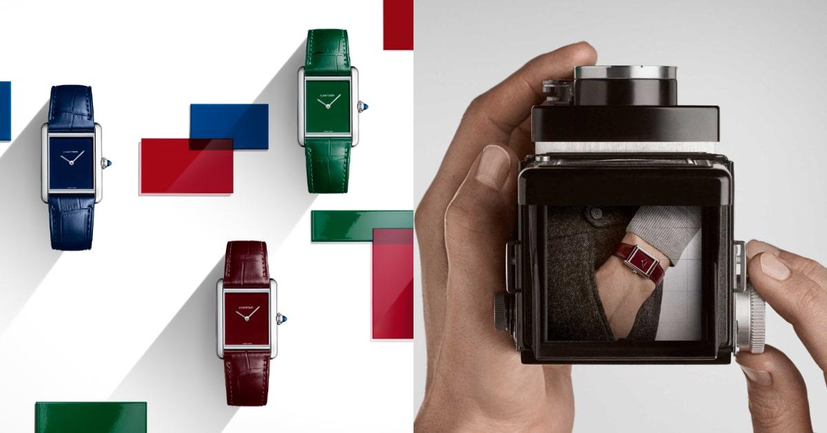 Cartier Tank系列展現新時代精神!結合品牌經典傳奇,連男神林柏宏都搶戴!-2