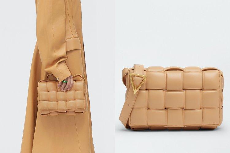 孫芸芸美包再+1!針織洋裝搭這款BV「珠珠鏈帶」卡帶包,桃粉色一秒抓住眾人目光-0