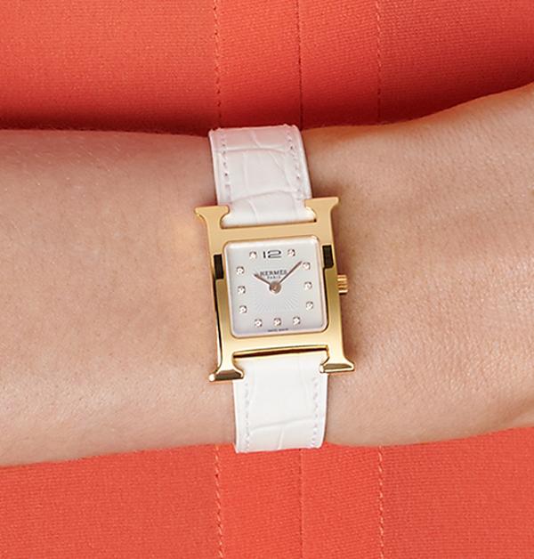 腕錶推薦「白色系」Top 13!chanel、cartier、tiffany到hermès…時髦ol絕對值得入手-7